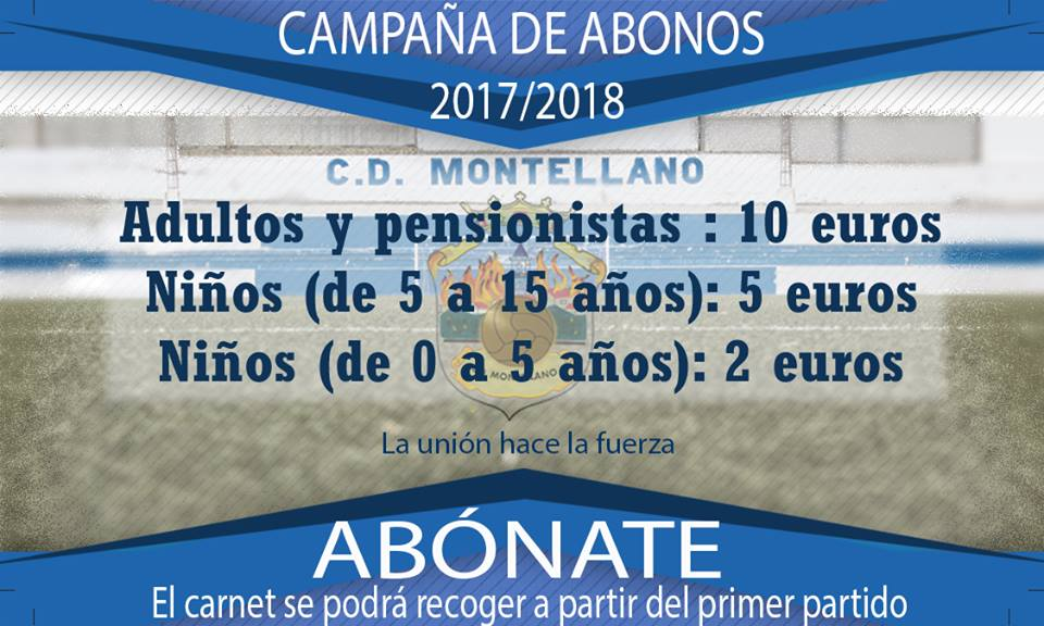 campaña abonados CD Motellano