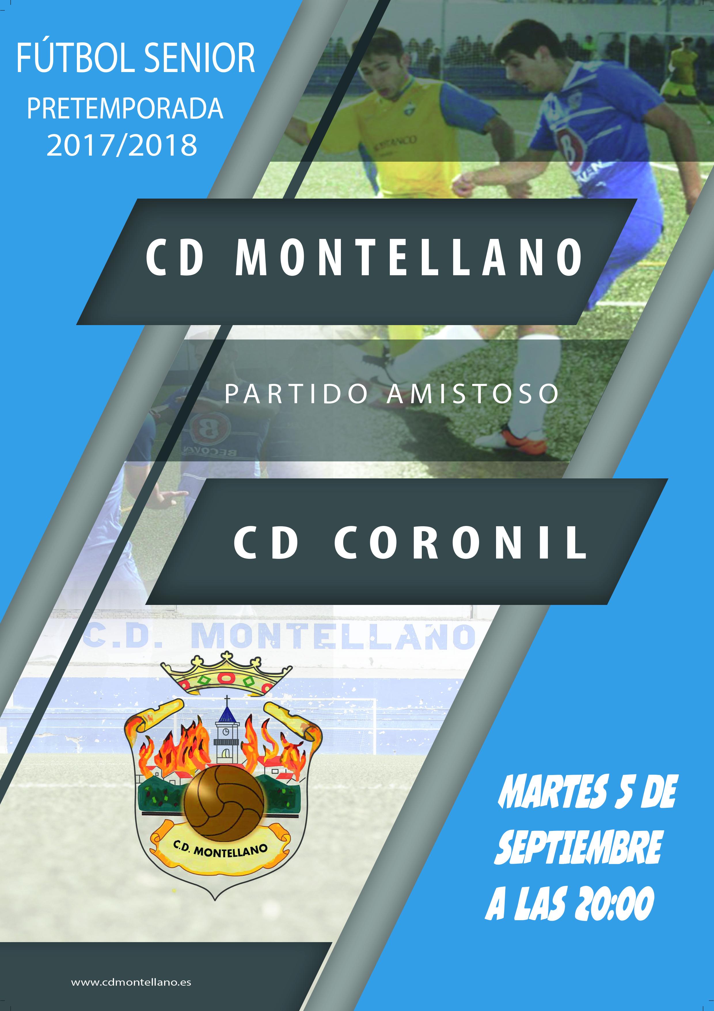 partido amistoso MONTELLANO - CORONIL