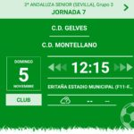 CD Gelves vs CD Montellano