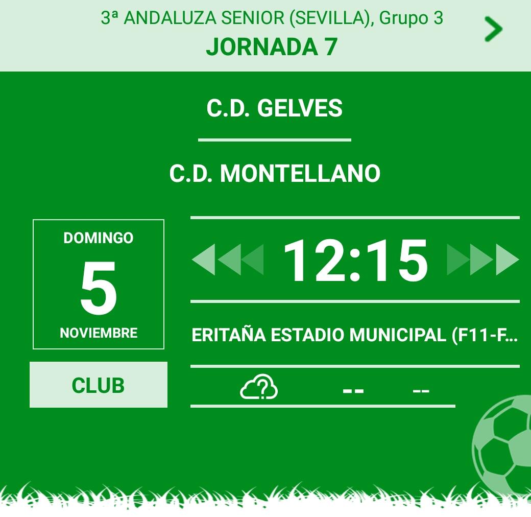CD Gelves vs CD Montellano