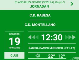cd rabesa vs cd montellano