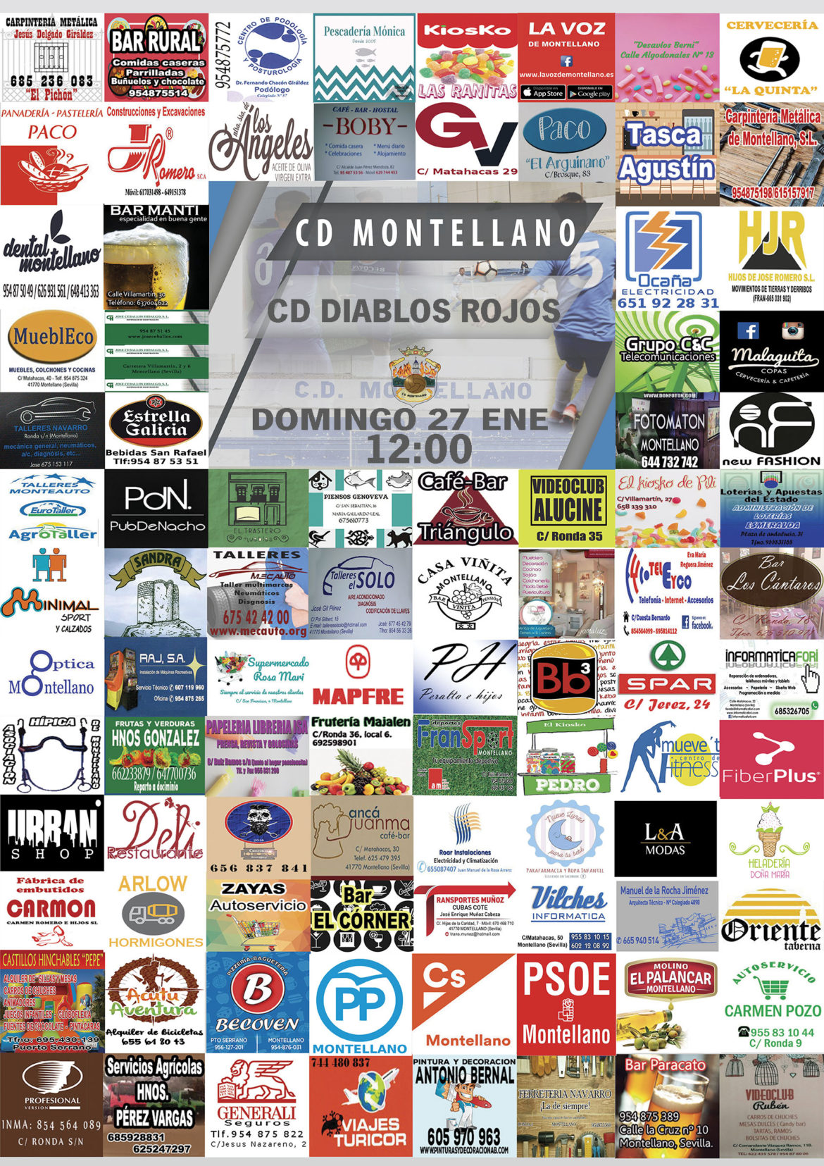 cd montellano vs cd diablos rojos