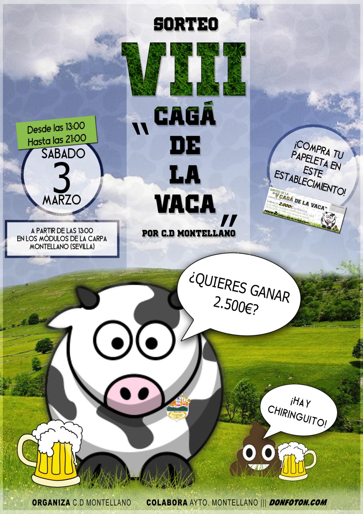 VIII cagáde la vaca 2018
